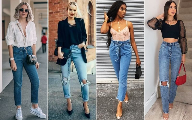 Myriad Ways to Wear Highly Comfortable Mom Jeans